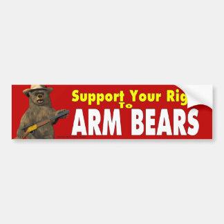 Adesivo Para Carro Ursos do braço!