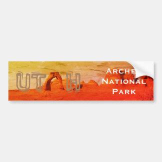 Adesivo Para Carro UTÁ, parque nacional dos arcos