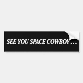 Adesivo Para Carro vaca do espaço