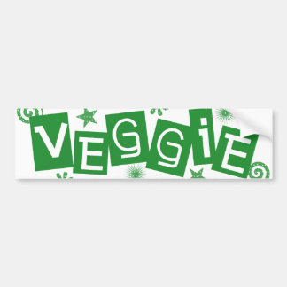 Adesivo Para Carro Vegetariano, para o autocolante no vidro traseiro