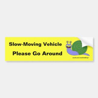 Adesivo Para Carro Veículo lento