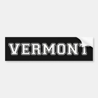 Adesivo Para Carro Vermont