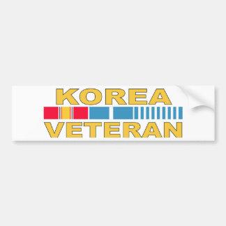 Adesivo Para Carro Veterano de Coreia