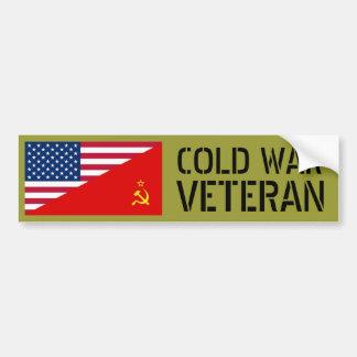 Adesivo Para Carro Veterano de guerra frio