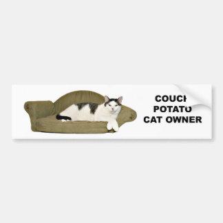 Adesivo Para Carro Viciado em televisão do gato