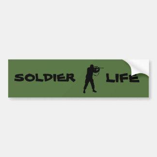 Adesivo Para Carro Vida do soldado