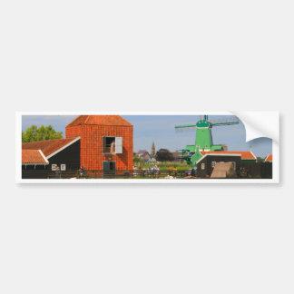 Adesivo Para Carro Vila holandesa do moinho de vento, Holland 4