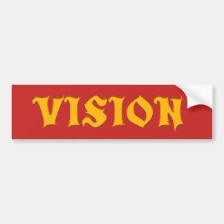 Adesivo Para Carro Visão que você projeta