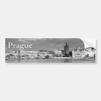 Adesivo Para Carro Vista da ponte de Charles em Praga