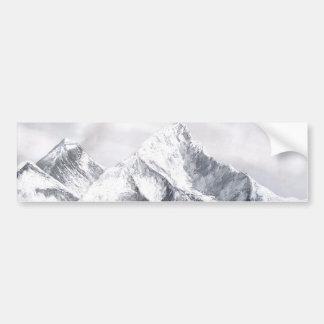 Adesivo Para Carro Vista panorâmica da montanha de Everest
