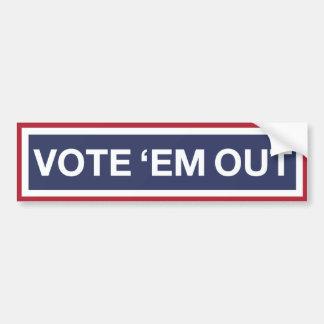Adesivo Para Carro Vote-os para fora! Vote para fora o GOP! Resista o