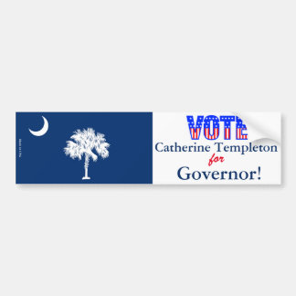 Adesivo Para Carro Voto Catherine Templeton para o governador