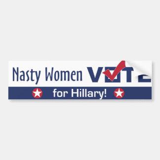 Adesivo Para Carro Voto desagradável das mulheres para o autocolante