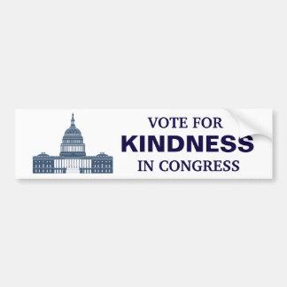 Adesivo Para Carro Voto para a bondade no congresso
