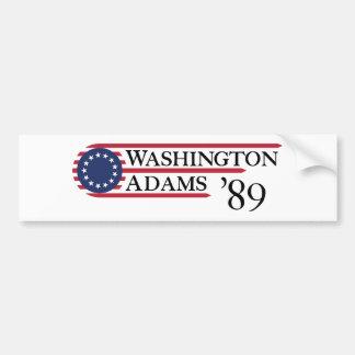 Adesivo Para Carro Washington Adams '89
