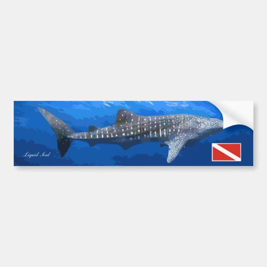 Adesivo Para Carro Whale Shark Sticker