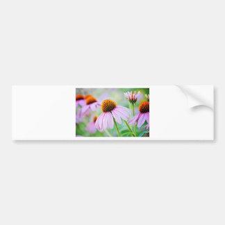 Adesivo Para Carro Wildflowers roxos