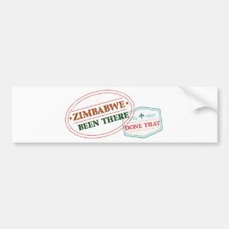 Adesivo Para Carro Zimbabwe feito lá isso