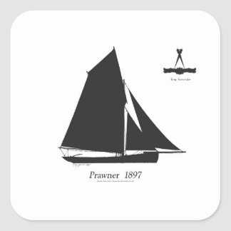 Adesivo Quadrado 1897 Prawner - fernandes tony