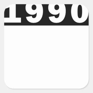 ADESIVO QUADRADO 1990