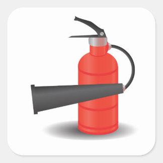 Adesivo Quadrado 90Fire Extinguisher_rasterized