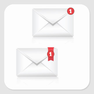 Adesivo Quadrado 91Mailbox Icon_rasterized alerta
