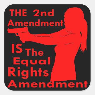 Adesivo Quadrado A ?a alteração É a alteração dos direitos do igual