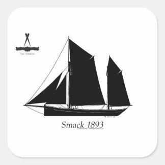Adesivo Quadrado a navigação 1893 smack - fernandes tony