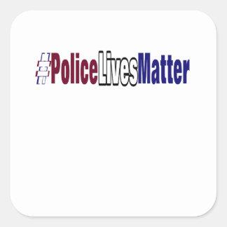Adesivo Quadrado # a polícia vive matéria
