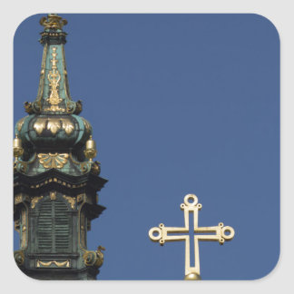Adesivo Quadrado Abóbadas ortodoxos da igreja cristã