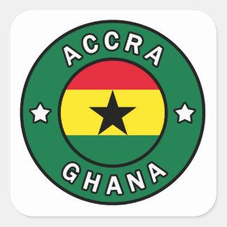 Adesivo Quadrado Accra Ghana