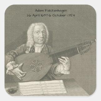 Adesivo Quadrado Adam Falckenhagen