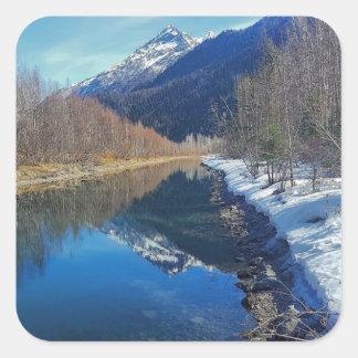Adesivo Quadrado Alaska