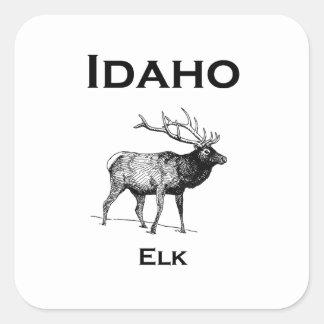 Adesivo Quadrado Alces de Idaho