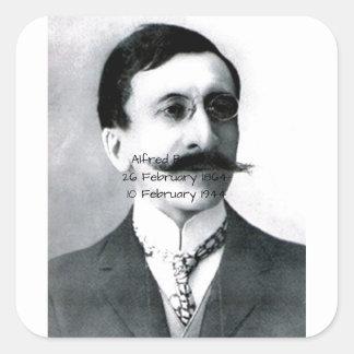 Adesivo Quadrado Alfred Bachelet