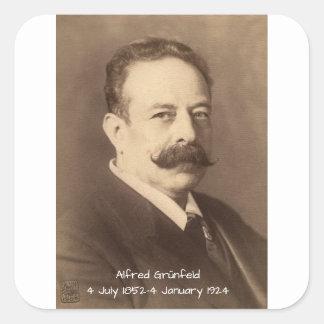 Adesivo Quadrado Alfred Grunfeld