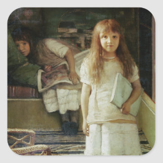 Adesivo Quadrado Alma-Tadema   isto é nosso canto, 1873