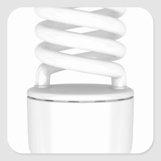 Adesivo Quadrado Ampola fluorescente