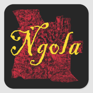 Adesivo Quadrado Angola