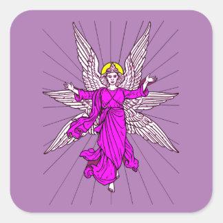 Adesivo Quadrado Anjo