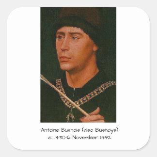 Adesivo Quadrado Antoine Busnois igualmente Busnoys
