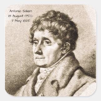 Adesivo Quadrado Antonio Salieri