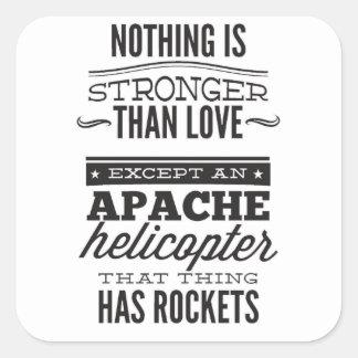 Adesivo Quadrado Apache
