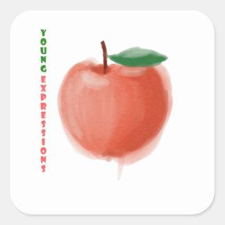 Adesivo Quadrado Apple