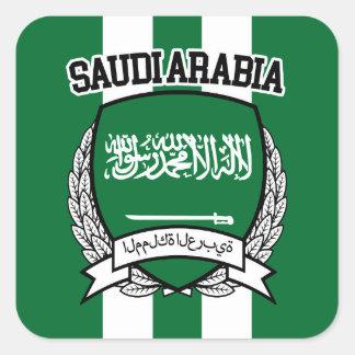 Adesivo Quadrado Arábia Saudita