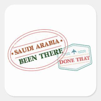 Adesivo Quadrado Arábia Saudita feito lá isso