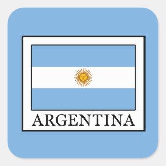 Adesivo Quadrado Argentina
