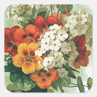 Adesivo Quadrado Arte do cobrir do catálogo de semente de Eastman