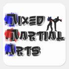 Adesivo Quadrado Artes marciais misturadas