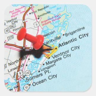 Adesivo Quadrado Atlantic City